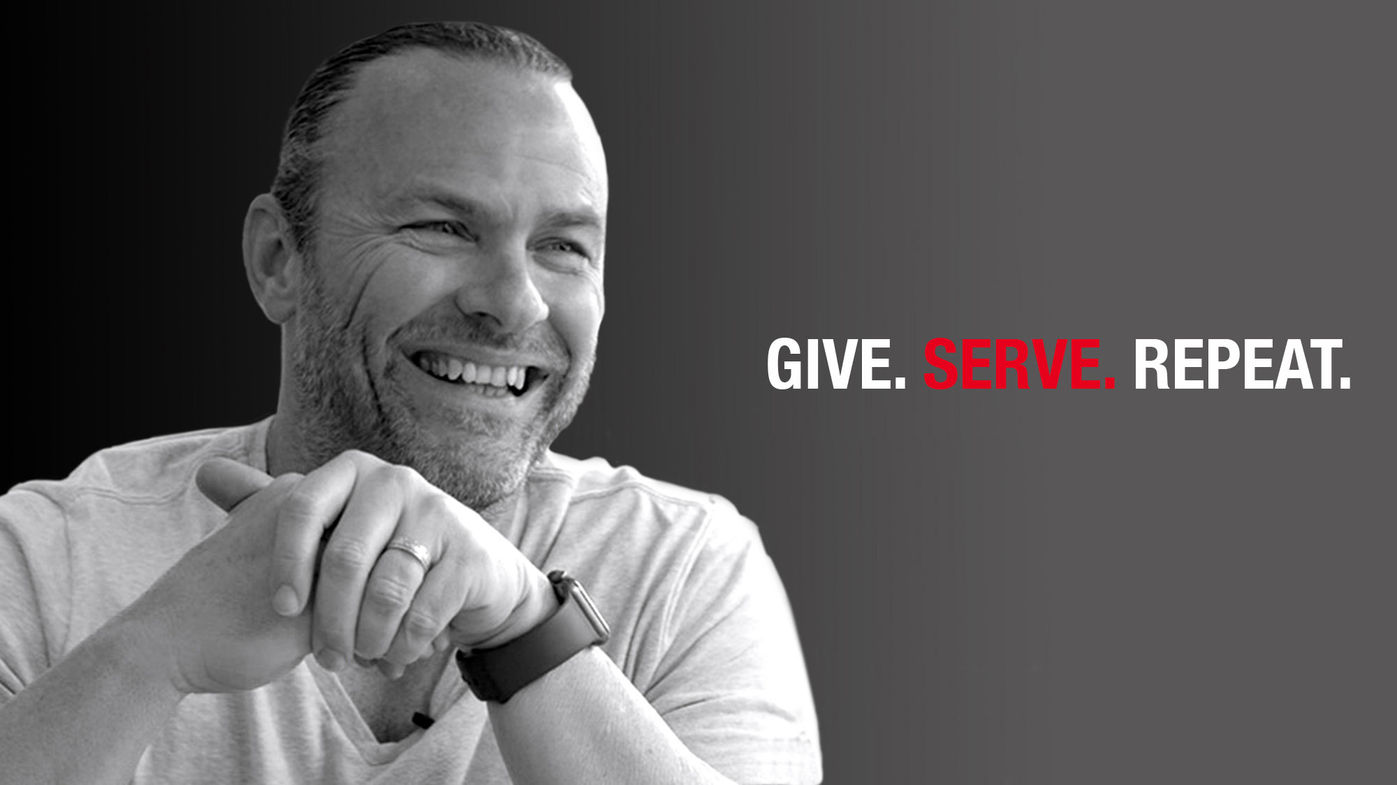 S.E. Greene - Give. Serve. Repeat.