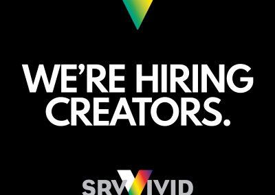 We're Hiring Creators